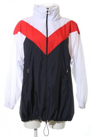 Tommy Hilfiger Oversized Jacke grafisches Muster Casual-Look