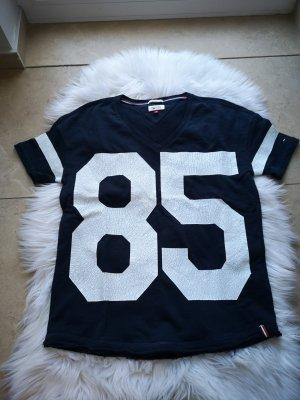 Tommy Hilfiger Oversized Tshirt Dunkelblau Gr S