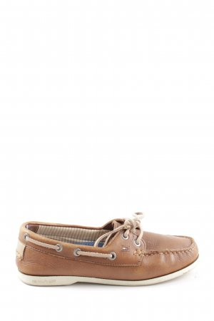 Tommy Hilfiger Oxfords brown business style