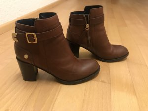 Tommy Hilfiger Ankle Boots brown-cognac-coloured