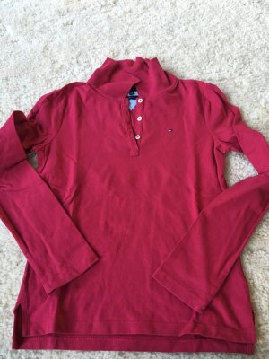 Tommy hilfiger pink Polo langarm