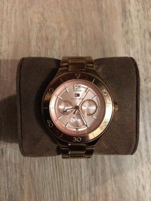 Tommy Hilfiger Piper Damen-Armbanduhr Uhr Analog Roségold
