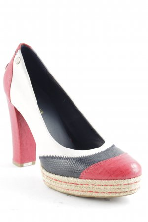 Tommy Hilfiger Plateauzool pumps veelkleurig casual uitstraling
