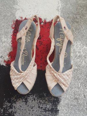 Tommy Hilfiger Denim Plateauzool sandalen veelkleurig