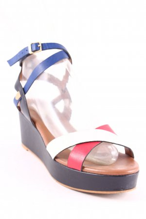 Tommy Hilfiger Platform High-Heeled Sandal multicolored casual look