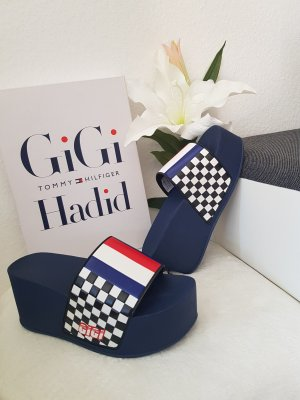 tommy hilfiger plateau wedges in gr. 36