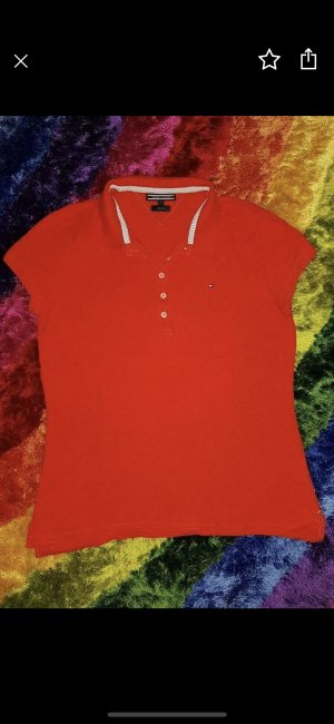 Tommy Hilfiger Polo rouge
