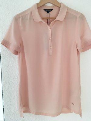 Tommy Hilfiger Polo Bluse rosa 38 NEU