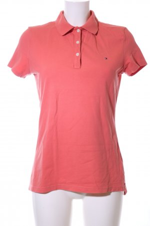 Tommy Hilfiger Polo shirt rood casual uitstraling
