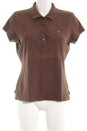 Tommy Hilfiger Polo Shirt brown casual look