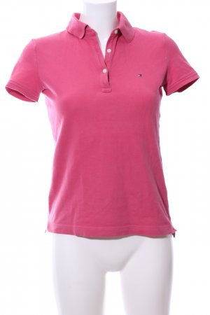 Tommy Hilfiger Camiseta tipo polo rosa look casual