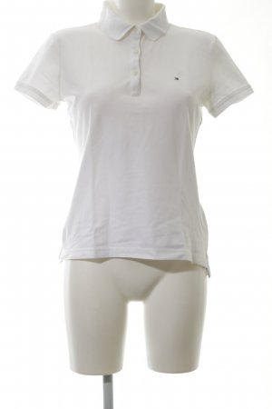 Tommy Hilfiger Polo Shirt white casual look