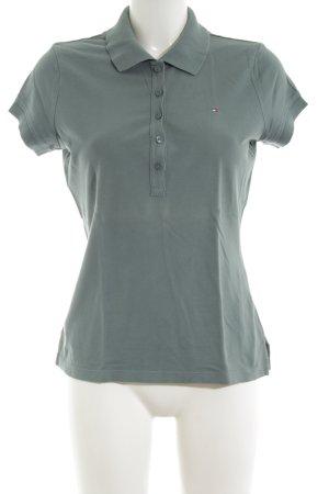 Tommy Hilfiger Polo-Shirt khaki Casual-Look