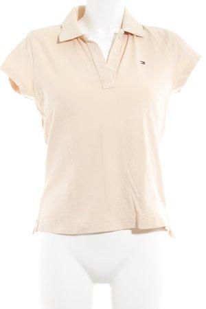 Tommy Hilfiger Polo-Shirt apricot sportlicher Stil