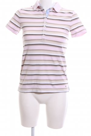 Tommy Hilfiger Polo Shirt striped pattern casual look