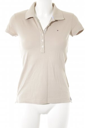 Tommy Hilfiger Polo Shirt beige classic style