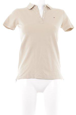 Tommy Hilfiger Polo-Shirt beige sportlicher Stil
