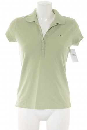 Tommy Hilfiger Polo-Shirt blassgrün Casual-Look