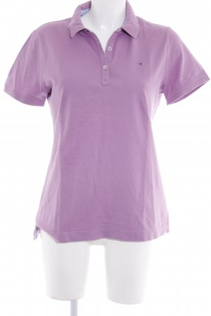 Tommy Hilfiger Polo Shirt mauve athletic style