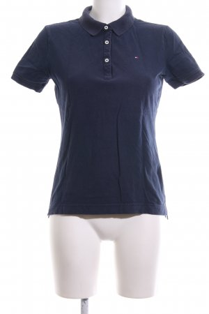 Tommy Hilfiger Camiseta tipo polo azul look casual
