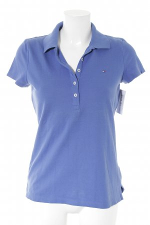 Tommy Hilfiger Polo Shirt blue athletic style