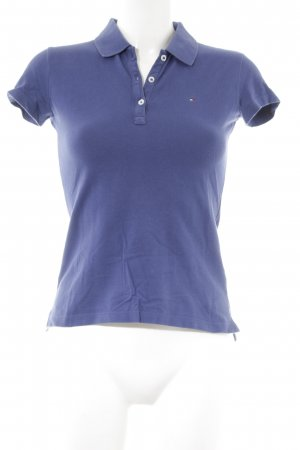Tommy Hilfiger Polo-Shirt blauviolett Business-Look