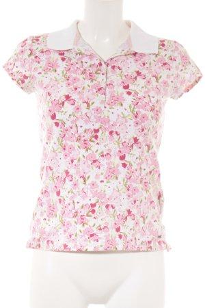 Tommy Hilfiger Polo-Shirt Blumenmuster Romantik-Look