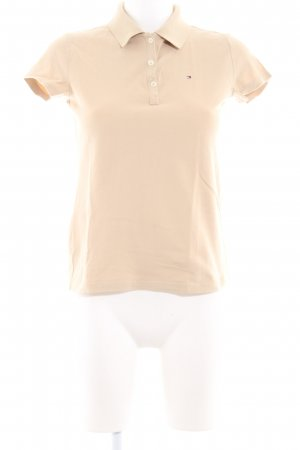 Tommy Hilfiger Polo-Shirt creme Webmuster Casual-Look
