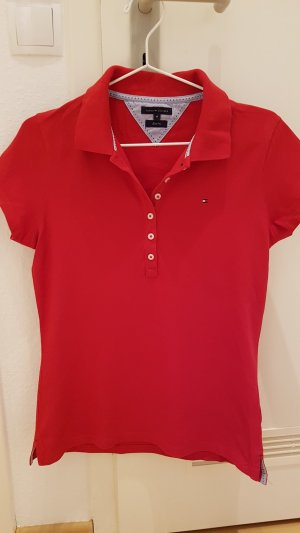 Tommy Hilfiger Polo rouge coton