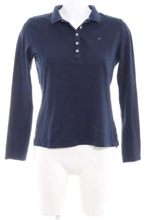 Tommy Hilfiger Camiseta tipo polo azul oscuro look casual