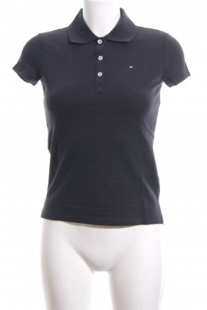 Tommy Hilfiger Polo Shirt dark blue casual look