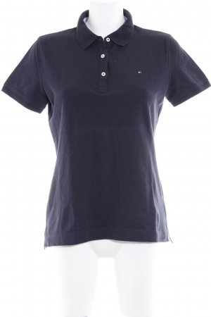 Tommy Hilfiger Polo Shirt dark blue casual look
