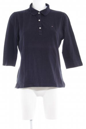 Tommy Hilfiger Polo blu scuro stile casual