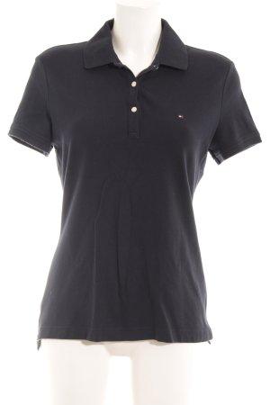 Tommy Hilfiger Polo-Shirt dunkelblau Casual-Look