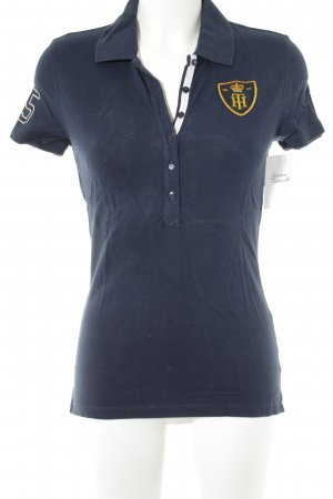 Tommy Hilfiger Polo-Shirt dunkelblau Casual-Look