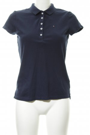Tommy Hilfiger Polo shirt donkerblauw-lichtroze Beach-look