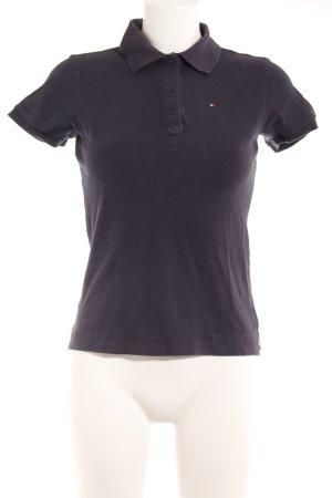 Tommy Hilfiger Polo-Shirt dunkelblau Logostickerei