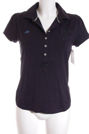 Tommy Hilfiger Polo-Shirt dunkelblau sportlicher Stil