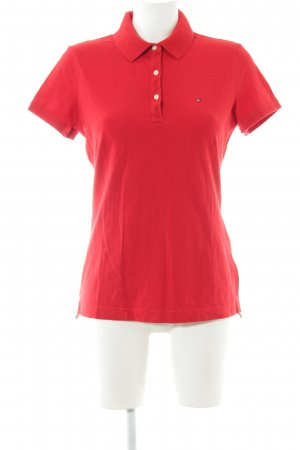 Tommy Hilfiger Polo Shirt red casual look