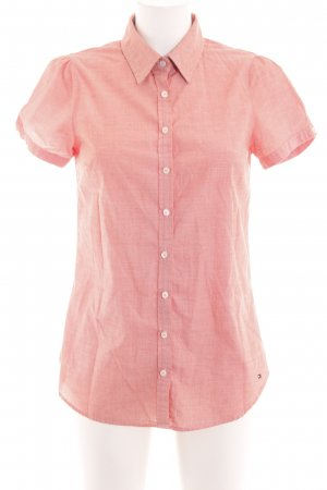 Tommy Hilfiger Polo-Shirt pink Allover-Druck Business-Look