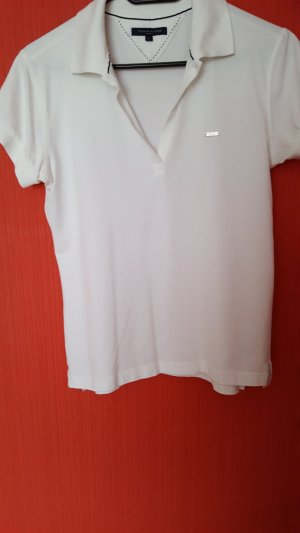 Tommy Hilfiger Camiseta tipo polo blanco