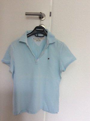 Tommy Hilfiger Polo Shirt Gr.38 hellblau