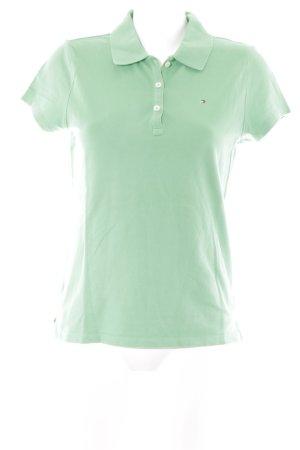 Tommy Hilfiger Polo-Shirt grasgrün Casual-Look