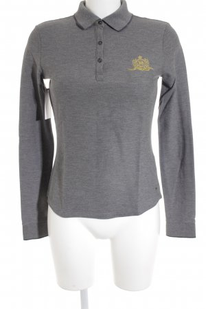 Tommy Hilfiger Polo-Shirt grau Casual-Look