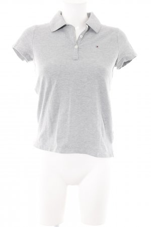 Tommy Hilfiger Polo-Shirt grau-hellgrau Casual-Look