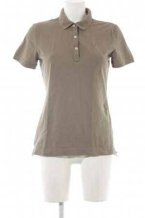 Tommy Hilfiger Polo-Shirt graubraun Casual-Look