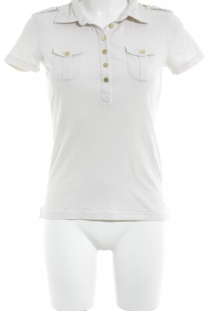 Tommy Hilfiger Polo-Shirt hellbeige Casual-Look