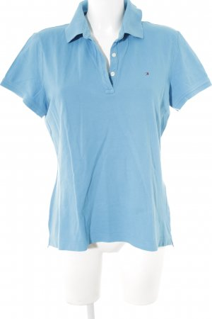 Tommy Hilfiger Polo azzurro stile casual