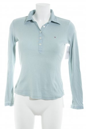 Tommy Hilfiger Polo Shirt light blue classic style