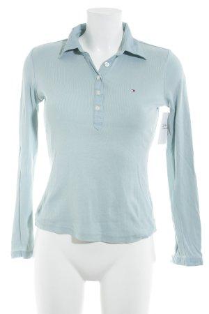 Tommy Hilfiger Polo azzurro stile classico